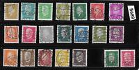 Complete Stamp set with overprints / 1928-1932 / Presidents Ebert & Hindenburg