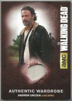 Walking Dead Season 4 Part 2 ~ COSTUME/RELIC CARD M31 Rick Grimes/Andrew Lincoln