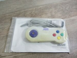 NEW VINTAGE GRAVIS PC GamePad 15-Pin 4-Button Controller with Joystick