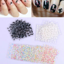 NEW 50 Sheets High Quality Flower Floral Nail Art Sticker DIY Tips Decal 3017C