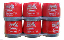 6 x 150ml Brylcreem Brylcream Original Hair Styling Cream