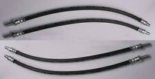 (x4) rolls royce silver shadow i & ii front brake hoses pipes (1965 - 80 uniquement)