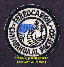 LMH Patch 10 FERROCARRIL CHIHUAHUA Al Pacifico EL CHEPE Railway PACIFIC Mex. LOT