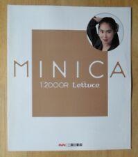 MITSUBISHI MINICA LETTUCE orig 1989 JDM Japanese Mkt Large Sales Brochure
