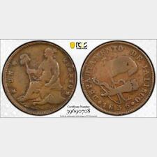1836 Mexico 1/4 Real. Scarce Departamento Type. PCGS VF 25. KM-354.