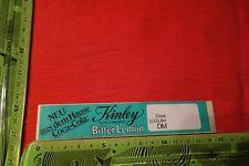 Alter Aufkleber KINLEY Bitteer-Lemon