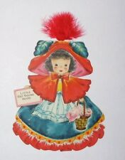Hallmark Card Dolls Land Make Believe Series 1 Doll 5 Little Red Riding Hood (2)