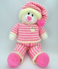 BEDTIME BEAR TEDDY TOY KNITTING PATTERN INSTRUCTIONS TO MAKE IT YOURSELF KBP 004