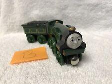 Thomas and Friends Tank Engine Wooden Railway Train Emily w Coal Tender B 2003