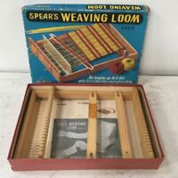 Vintage Spear's Weaving Loom - Size 2 - in Original Box + Manual