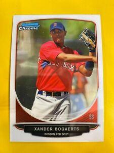 14438 2013 Bowman Chrome Draft Top Prospects #TP40 Xander Bogaerts RED SOX RC