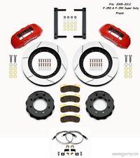 Wilwood TX6R Front Big Brake Kit fits 2005-2012 Ford F-250/F-350 Super Duty