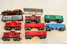 Miscellaneous MARX Rolling Stock Caboose lot 51100 Tanks car Transport