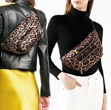 Michael Kors Bag Fanny Pack Perry Medium Waistpack Belt Butterscotch New
