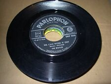 """BEATLES we can work it out / day tripper ( rock ) 7"""" / 45 - parlophon italy"""