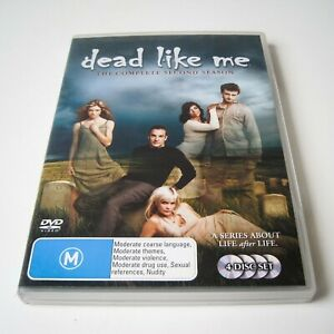 DEAD LIKE ME - THE COMPLETE SECOND SEASON - DVD   4 DISCS