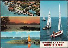 AD5591 Torre del Lago Puccini (LU) - Vedute - Cartolina postale - Postcard