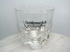 GENTLEMAN JACK Daniels RARE TENNESSEE WHISKEY Lowball Cocktail Glass Tumbler