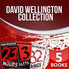 David Wellington Laura Caxton Vampire Tales Series 5 Books Collection Set