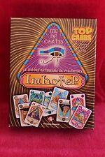 RARE : Imhotep - Le jeu de cartes des bâtisseurs de pyramides - complet