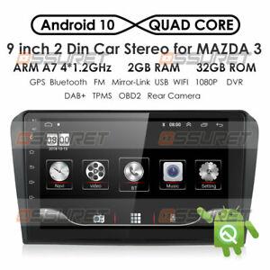 "Für Mazda 3 2003 2004 -2009 9"" Android Radio Navigation USB GPS WIFI 2G+32GB BT"