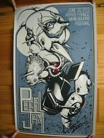 Pearl Jam Poster Arras, France 5/30/12 SilkScreen