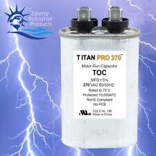 New Titan Pro Toc10 Hvac Oval Motor Run Capacitor 10 Mfduf 370 V