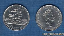 Canada Confédération - 25 Cents 1992 Ontario Jack Pine