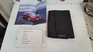 Renault Clio MK4 2013-2018 Handbook Document Wallet Guide