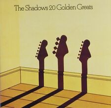 THE SHADOWS: 20 TWENTY GOLDEN GREATS CD VERY BEST OF / GREATEST HITS NEW SEALED