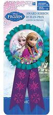 Disney Frozen Award ruban rosette, médaille, prix parti