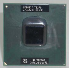 CPU Intel Dual Core DUO Mobile T5270 1.40/2M/800 SLALK processore socket 478 479