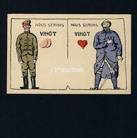 Soldaten Humor FRANKREICH FRANCE 1914/18 Humour Militaire * AK WW I