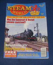 STEAM WORLD MARCH 1994 - WAS THE SOMERSET & DORSET CLOSURE CONTRIVED?