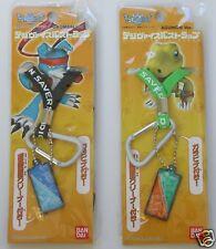 Rare & Brand New @ Bandai Digimon Strap Agumon & Gaomon