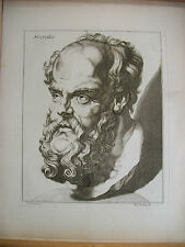 LAVATER STUDIEN FUR PHYSIOGNEMIKER 40 Antique Physiognomy Prints circa 1800 Rare
