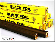 BLACKWRAP FLEXIBLE HEAT RESISTANT PHOTO FOIL FOR FILM TV VIDEO LIGHTING