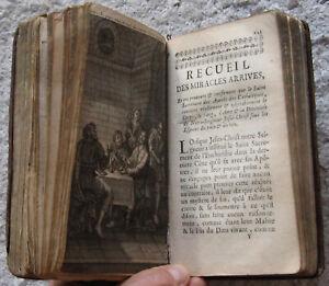 RARE E.O DEVOTION JESUS BIBLE RELIGION MIRACLES DIABLE ESOTERISME GRAVURES 1750
