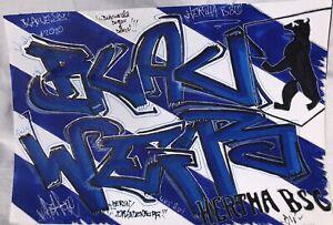 Sketch Blauweisses Sketchbattle MYROK Hertha BSC