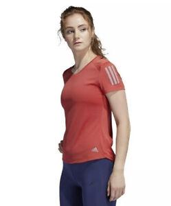 adidas Women's OWN THE RUN AEROREADY T-Shirt Sz. XS NEW FL7813 LT