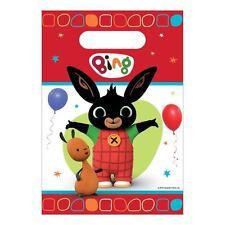 8pk BING Bunny in Plastica Loot Borse Festa di Compleanno Favori