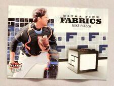 2006 Fleer Ultra Fine Fabrics #FM-MP Mike Piazza San Diego Padres