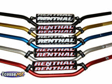 Guidons noirs Renthal pour motocyclette
