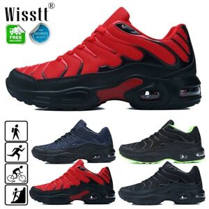 Mens Running Athletic Shoes Breathable Cushioned Sneakers Gym Jogging Big Size