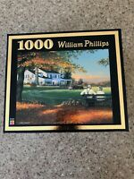 WILLIAM PHILLIPS - THE MOON WATCHERS - 1000 PIECE PUZZLE