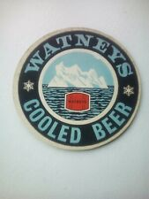 Vintage WATNEYS / COOLED BEER   - Cat No'64  -  Beermat / Coaster