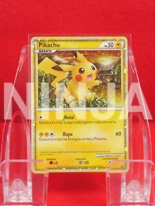 "*{S- rank}* Pokemon Card Pikachu WORLD COLLECTION ""SPANISH"" Holo!! #K2002"