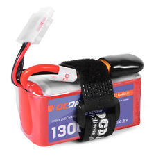 OCDAY 14.8V 1300mAh 4S 75C LiPo Battery XT60 for 150-280 Racing Quadcopter RC352