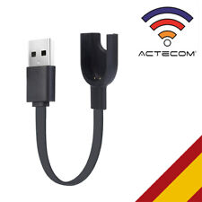 ACTECOM Cable USB de carga y sincronización de carga base para Xiaomi mi Band 3