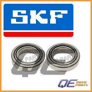 Set of 2 Front Inner Wheel Bearings SKF 1409810305 For: Mercedes W215 W211 W220